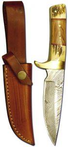 Jagdnicker: SP-M06 mit Hirschhorngriff - Jagdmesser
