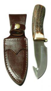 Jagdnicker: SP-M01 mit Hirschhorngriff - Jagdmesser