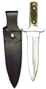 Saufänger: SP-M04 mit Hirschhorngriff - Jagdmesser